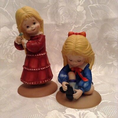 Dorothy's Day Figurines, Limited Editions 1st, 2nd In The Series, Royal Cornwall