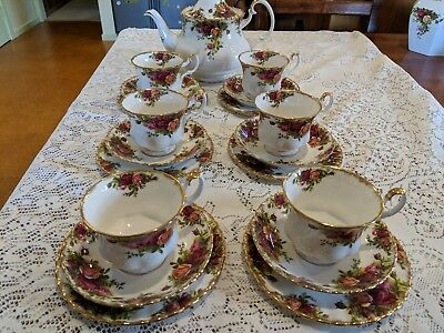 Royal Albert Old Country Roses Tea Set - made in England