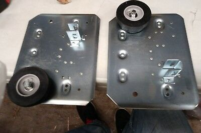 """(PAIR) ROM CFG Shutter III Pennant Plates Front Roll C Size 53""""-78"""" Height"""
