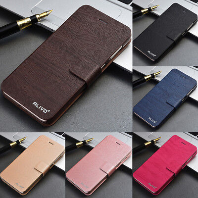 For Xiaomi Redmi Note 8 7 6 5 Pro 8A 7A Slim PU Leather Flip Wallet Case Cover
