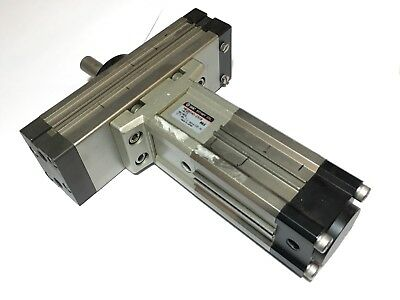 SMC Pneumatic Air Rotary Cylinder MRQBS40-25CB-A73 Used