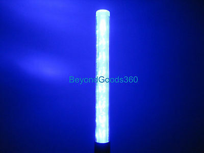 Security Safety Traffic Control 3xAAA Battery 3-mode Blue Light LED Magnet Wand