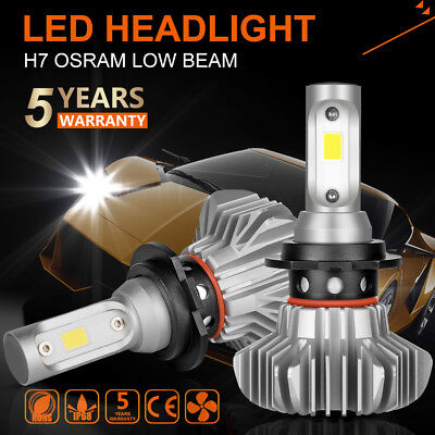 OSRAM H7 1080W 162000LM LED Headlight Kit High Low Beam Bulbs CREE 6500K 6000K