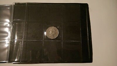 120 Large Pockets Album - Coin / Craft Storage Book 4.5 x 4.5 cm No Print Cover