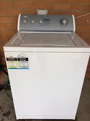Whirlpool Top Loader Washing Machine 7.5kg Commercial Quality USA Built - Used