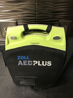 Zoll AED Plus Defibrillator with Case and Adult Pads