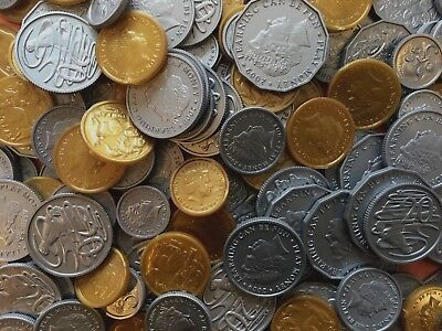 106 Realistic Coins Australian Currency Play Money - Toy Money