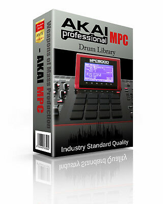 AKAI MPC Kits/Drum Machine WAV Samples & Sounds Library: digital delivery
