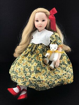 Lynn by Pauline Bjonness Jacobsen Limited Edition Porcelain Doll