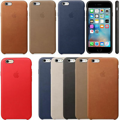 Original Genuine Leather Case Covers for Apple iPhone 7 / 7 Plus / 6s / 6s Plus