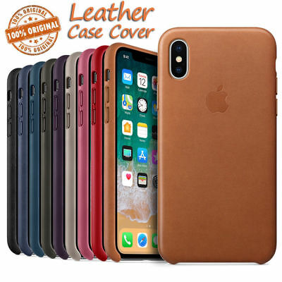 Original Leather Case For iPhone X 10 8 7 Plus Genuine PU OEM Cover Retail Box