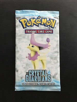 Pokemon Ex Crystal Guardians Sealed Booster Pack
