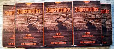 Playing Cards Jägermeister - Lot of 7 Sets Brand New