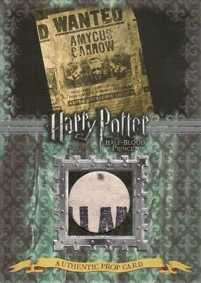 Harry Potter Half Blood Prince Update Wanted Poster P11 Prop Card