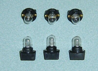 6 Slot Machine Light Bulbs - New  With Bases - #400 24/28V  - Fit Many Machines