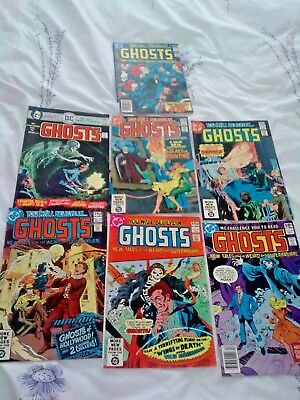 GHOSTS...DC Comics 7 ISSUES! ALL FINE-VERY FINE.