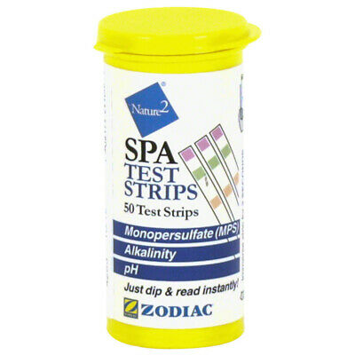 Zodiac Nature2 N2 Spa Test Strips 50 Pack W29300