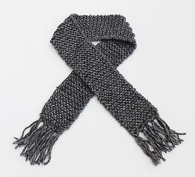 Grey Baby Scarf Photo Prop Babies Winter Gray Scarves Boy or Girl Infant Newborn