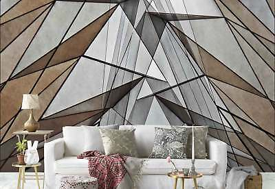 Triangle Polygon Shapes Abstract Texture Photo Wallpaper Wall Mural (1X-1220498)