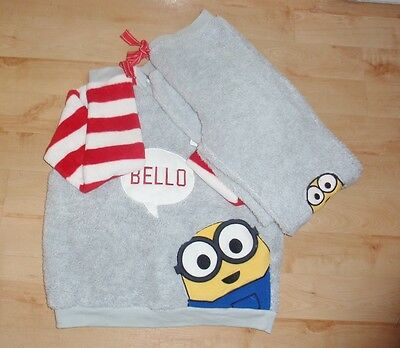 BNWT Primark Ladies Girls Despicable Me MINIONS BELLO fleece lounge wear