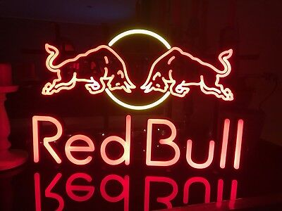 Red Bull Leuchtreklame Neonwerbung Lampe
