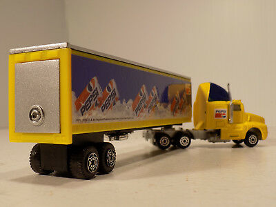 Golden Wheels  Pepsi Cola Tractor Trailer Die Cast Metal & Plastic NOS MIB