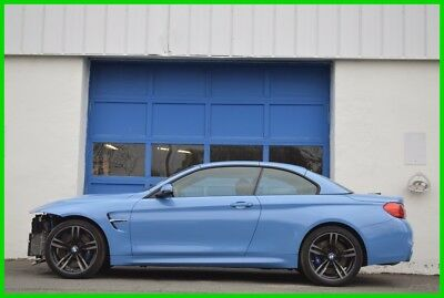 2016 BMW M4 Base Convertible 2-Door Repairable Rebuildable Salvage Lot Drives Great Project Builder Fixer Easy Fix