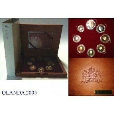 2005 Holland Divisional Proof 8 Coins Mf8827