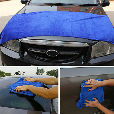 1pc Car Washing Microfiber Towel Absorbent Drying Cleaning Polish Mat 160*60cm