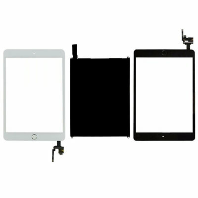 FOR iPad Mini 3 A1599 A1600 Retina LCD Screen +Digitizer Touch +IC Flex Button