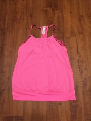 Ivivva Girls 14 Tank W/built In Bra