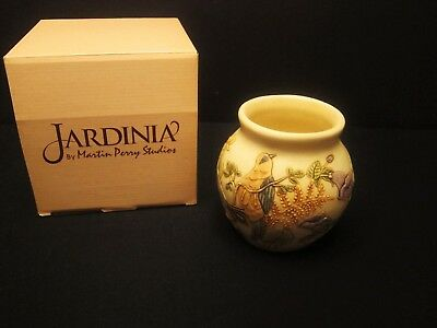 Martin Perry Studios Harmony House Morning Chorus Jardinia Cachepot Vase Retired