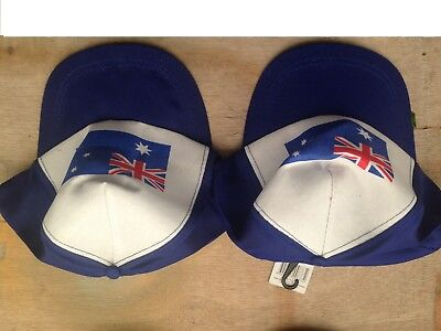 Australian souvenir assorted caps 10cm x 6cm buy1 get 1 free adults and teens