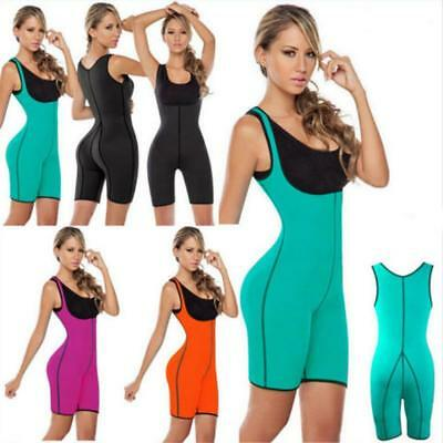 Exercise Jumpsuit Female Neoprene Tights Trousers Suit Sports Sweat GA