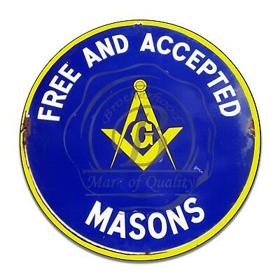 Free and Accepted Masons Masonic Car Emblem #A-16 With Square and Compass