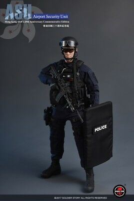 SoldierStory 1/6 Hong Kong SAR's 20th Anniversary Airport Security Unit Figure