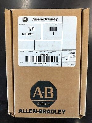 Allen Bradley 1771-CP1 cable - NEW