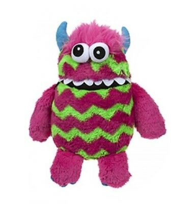 Children's Soft Plush Worry Monster Eat Your Worries & Scares Away - Pink Green