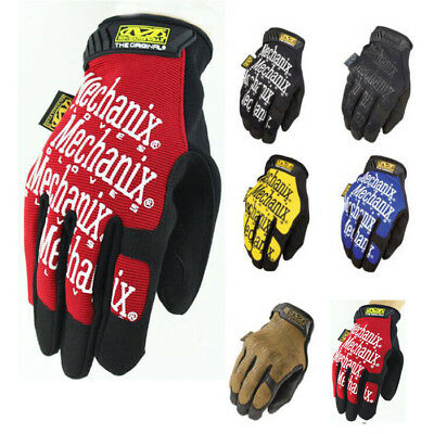 Mechanix Wear Tactical Gloves Military Bike Race Sport Mechanic Airsoft