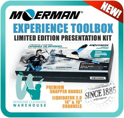 MOERMAN Experience Toolbox w/ Liquidator Channel & New Premium Snapper Handle