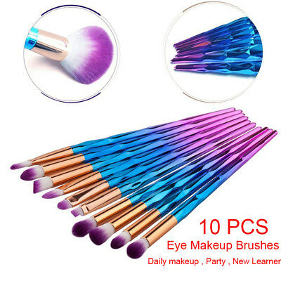 Eyeshadow Blending Makeup Brushes Set Pro Eye Make Up Brush Eyebrow Eyeliner Kit