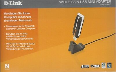 D-Link DWA-140 Wireless N USB Miniadapter