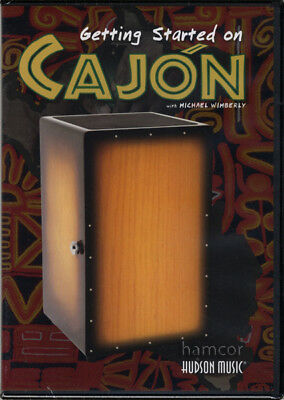 Getting Started on Cajon DVD Step-by-Step Learn How to Play Beginner Method