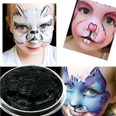 6 Color  Make Up Face Paint Palette Fun Halloween Fancy Painting Long Lasting