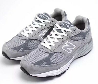 low priced ac493 85be1 NWT NEW BALANCE Womens 993 Gray Running Shoes Made In USA Sz5 2A $140  #WR993GL