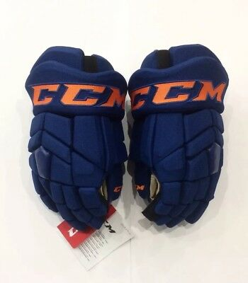 d49a2cd84d9 Ccm Tacks Edmonton Oilers 3Rd Nhl Pro Stock Return Hockey Player Gloves 14