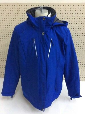 Gerry Outdoors 3in1 Systems Coat Removable Hood & Liner Crusade Jacket Womens XL