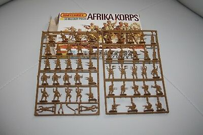 1:76 scale Matchbox 50 military pieces WWII Afrika Korps P-5004 New open box