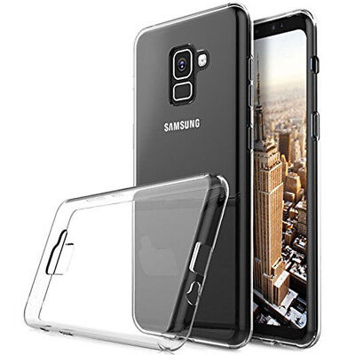 For Samsung Galaxy S10 S9+ Luxury Ultra-thin Slim Clear Soft TPU Case Cover d6