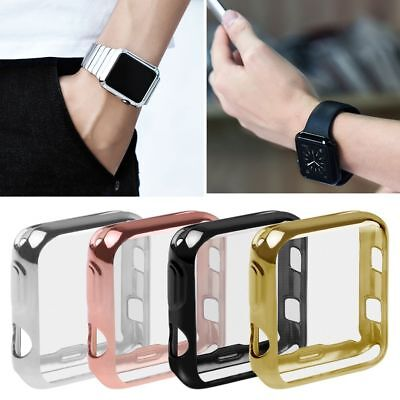 For Apple Watch Series 2/3 Bumper Screen Protective Case Cover 38mm / 42mm